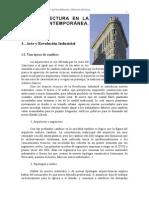 La Arquitectura en La Epoca Contemporanea - Siglo XIX