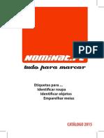 Catálogo 2015 - Etiquetas Nominat Portugal