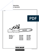 Makita Chainsaw Parts Diagram | Dolmar Parts Manual For Chainsaw Models Ps 6400 Ps 6400 Deco Ps