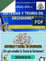 Clase 2 Teoria Decisiones 2015 - i