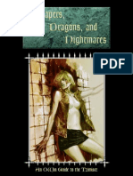 Shapers Dragons and Nightmare an OWbN Guide to Clan Tzimisce 2015