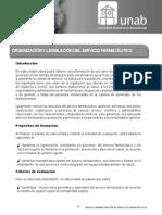 Organización y Legislación Del Servicio Farmaceutico