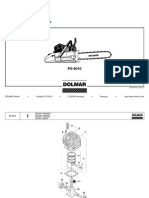 DOLMAR Parts Manual for Chainsaw Models: 109,110,111,115