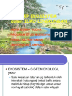 Ilmu LIngkungan Bab 2 Konsep ekologi oleh Indra Gumay Yudha