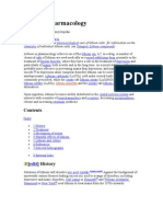 Lithium Pharmacology