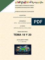 TEMA 19 Y 20