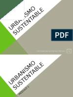 Urbanismo Sustentable Modulo 1