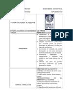 Ficha Atencion Al Cliente