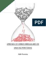 eBook Aprenda Os Verbos Irregulares de Uma Vez Por Todas