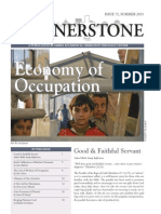 Cornerstone, Summer 2015, Economy of Occupation