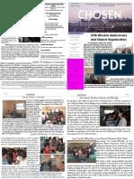 Chosen Newsletter 1st 2015