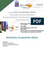 Anestesia Em Paciente Obeso