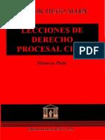 Lecciones de Derecho Procesal Civil Hugo Allen