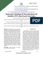 Regression Modeling of Macrohardness Of