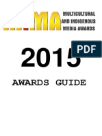 2015 Multicultural Indigenous Media Awards ---Awards Guide