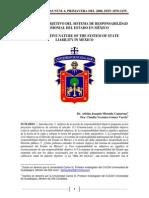 El Caracter Objetivo Del Sistema de Responsabilidad Patrimonial Del Estado de Mexico