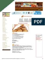 Livro de Receitas - Biscoitos & Bolachas - Amanteigados Com Amendoim