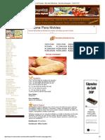 Livro de Receitas - Biscoitos & Bolachas - Biscoito Champagne