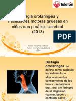 Disfagia Orofaringea y Habilidades Motoras Gruesas en Niños