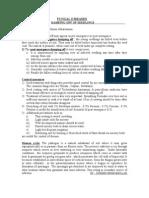 Pathology plant diseases