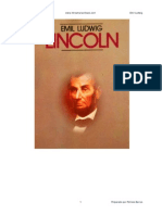 El Presidente Lincoln - Emil Ludwig