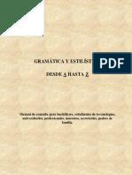 Gramatica y Estilistica