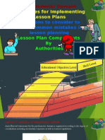 Psychomotor by Narrow and simpson and guildlines for lesson planing