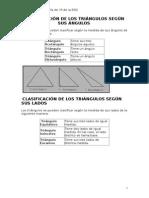 Clasificacion de Triangulos y Cudrilatetros