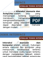 PERTEMUAN 1 - Pengenalan Teknik Interface