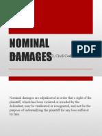 NOMINAL DAMAGES.ppt