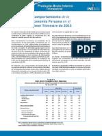 Informe Tecnico n02 Pbi Trimestral 2015i