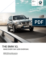 2014 BMW X3 Brochure