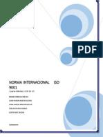 Norma Internacional ISO 9001