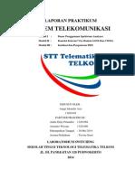 Laporan Praktikum Sistem Telekomunikasi