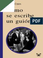 Chion, Michel - Como Se Escribe Un Guion [20129] (r1.0)
