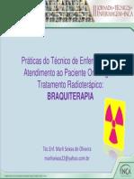 Tratamento Radioterapico Braquiterapia Marli