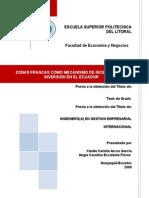 7240a369f33da0 Tesis Zonas Francas Como Mecanismo de Incentivo Para La Inversion en El  Ecuador