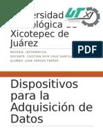 Dispositivos de Adquisicion de Datos