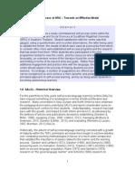 Self-Access at SRU - Towards an Effective Model
