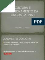 Cultura e Funcionamento Da Lingua Latina i