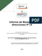 Informe - Manejo de Direcciones IP