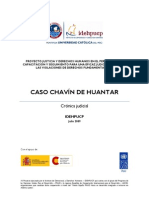 Cronica Judicial Chavin de Huantar Julio 2009