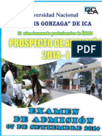 Prospecto Admision 2014-I