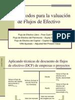Métodos para la Valuación de Flujos de Efectivo