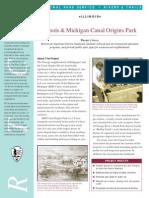 Illinois & Michigan Canal Origins Park
