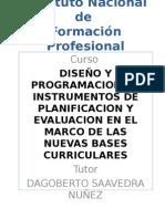 Diseno y Programacion de Instrumentos de Evaluacion