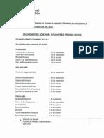Solemnes y Exámenes 2015-20