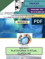 Taller Sesion 05 Claroline -Edmono_2015