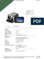 Panasonic SDR-H40 manual