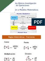 Clase 1 - Conceptos Basicos e Introduccion a Modelos Matematicos
